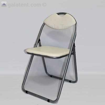 Exceptionnel Padded Folding Retro Chair (Cream). Gallery Image Gallery Image Gallery  Image Gallery Image