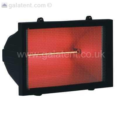 Electric Infrared Patio Heater (wall Mounted). Gallery Image Gallery Image  Gallery Image