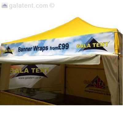 3m X 3m Gazebo Printed Banner Wrap Gala Tent Ireland