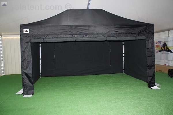 4 5m X 3m Gala Shade Pro 50 Gazebo Black Gala Tent Ireland