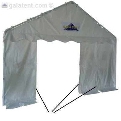 4m X 8m Gala Tent Marquee Elite Pvc Gala Tent Ireland